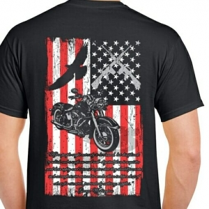 Men's Veterans T-Shirt | American Flag T-Shirt | Military T-Shirt