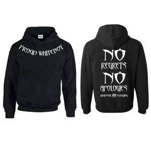 No Regrets No Apologies Hoodie | Biker Hoodies | Biker Clothing