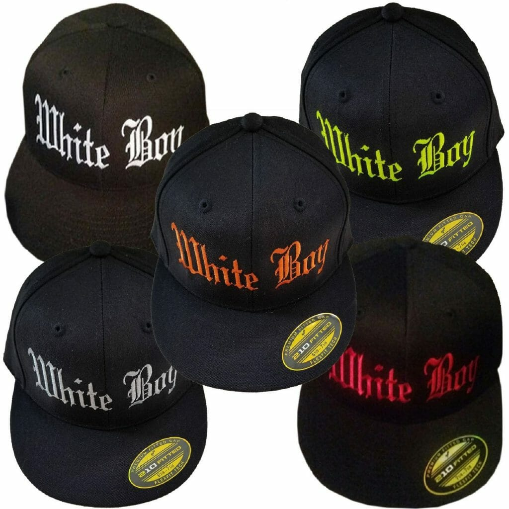Men's White Boy Hat | White Pride Hats | Gray Soul Clothing