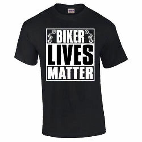Biker Lives Matter Black T-Shirt