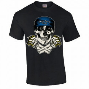Skull and Brass Knuckles T-Shirt
