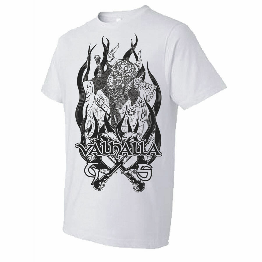 Valhalla T-Shirt | Gray Soul Clothing | Biker Clothing & Accessories