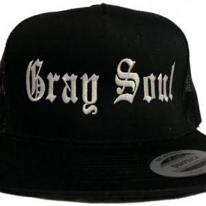 Gray Soul Snap Back Hat   Whiteboy Clothing & Apparel