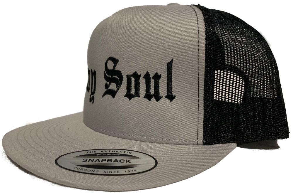 Gray Soul Snap Back Hat | Whiteboy Clothing & Apparel