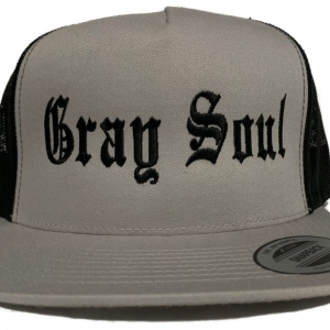 Gray Soul Snap Back Hat | Whiteboy Clothing & Apparel