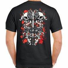 Gray Soul Skull Shirt