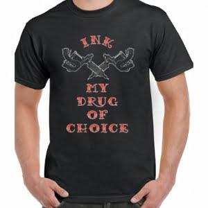 Men's Tattoo Gun T-Shirt