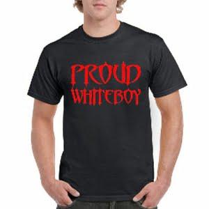 Proud White Boy T-shirt