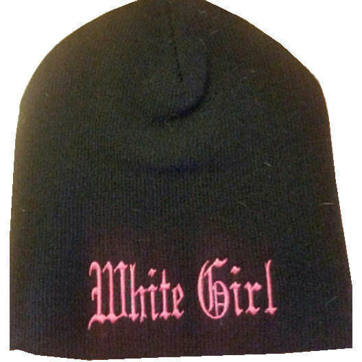 White Girl Beanie | White Girl Apparel | Women's Biker Clothing