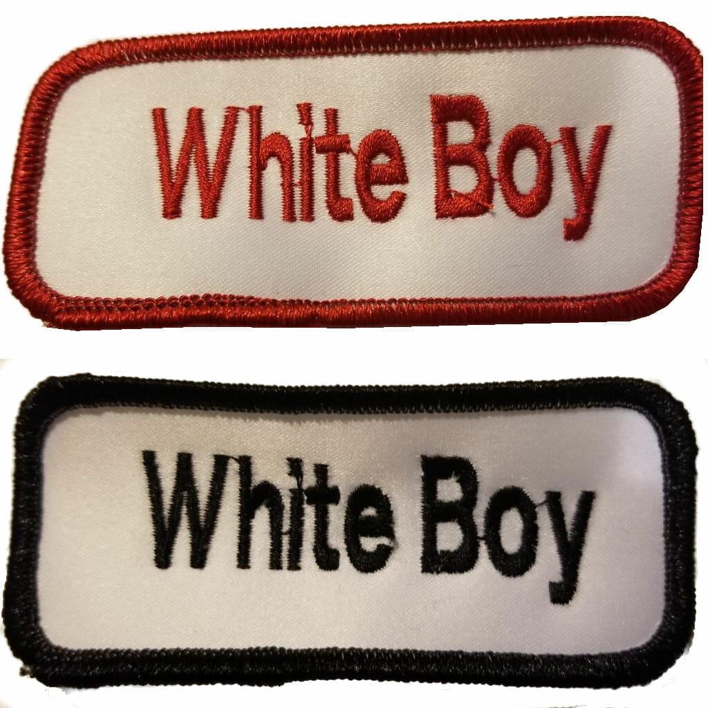 Proud White Boy Patch