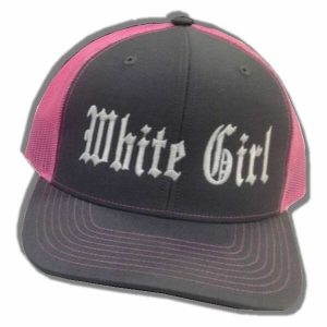 White Girl Snap Back Hat
