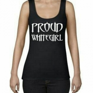 Proud White Girl Tank Top