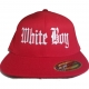 Fitted Whiteboy Hat | Gray Soul Clothing