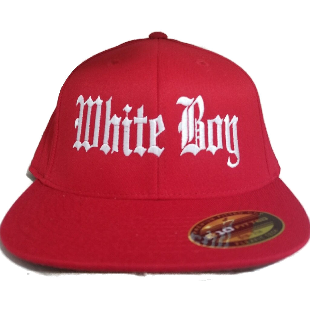 Fitted Whiteboy Hat   Gray Soul Clothing