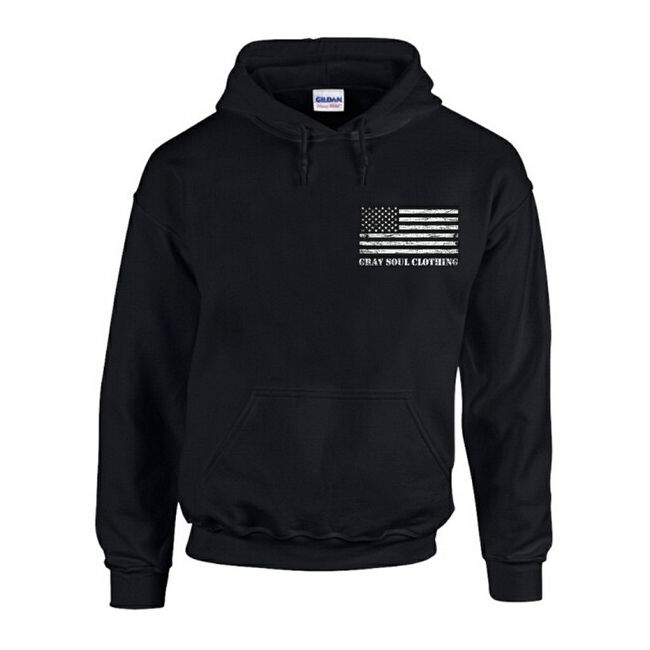 Working Class Whiteboy Hoodie | Gray Soul Clothing